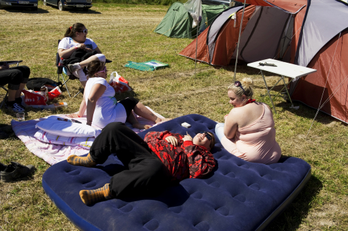 "Camping  "" Wings and Wheels """