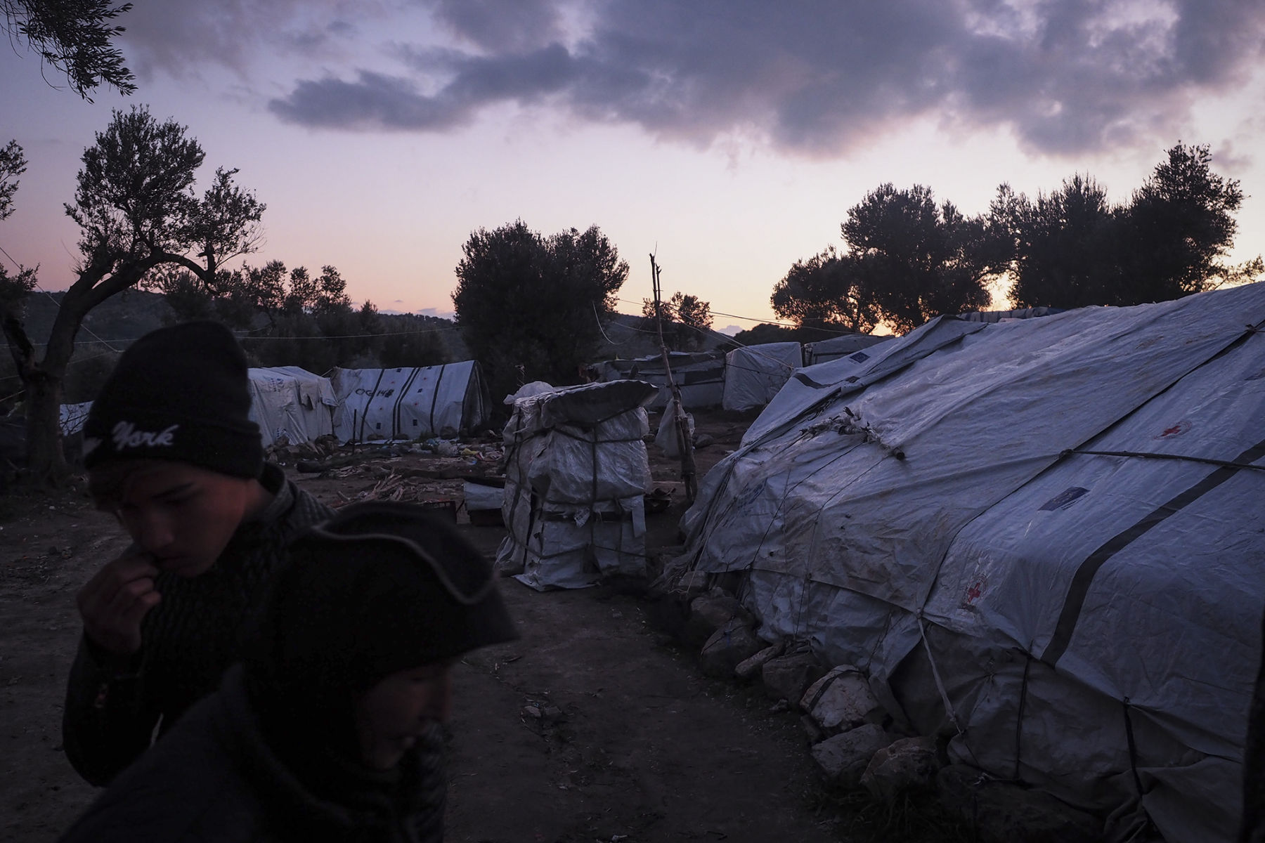MORIA Refugeecamp Lesvos - January 2019